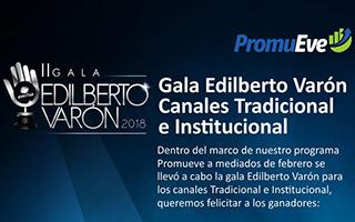 Gala Edilberto Varón 2018