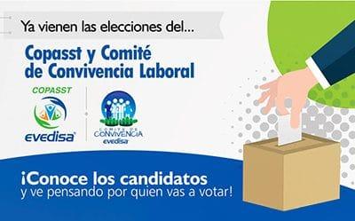 Elecciones del Copasst y Comite de Convivencia Laboral