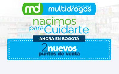 Ahora en Bogotá 2 Nuevos Puntos de Venta
