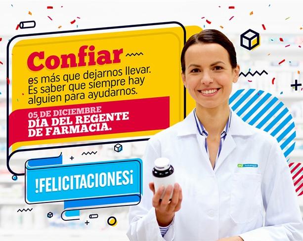 Feliz Día del Regente de Farmacia