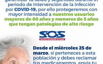 Información importante usuarios SOS